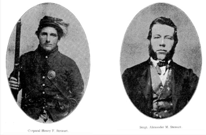 Henry F and Alexander M Stewart