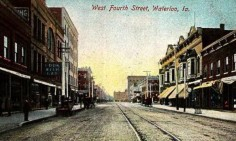 Postcard Waterloo, Iowa US Historical