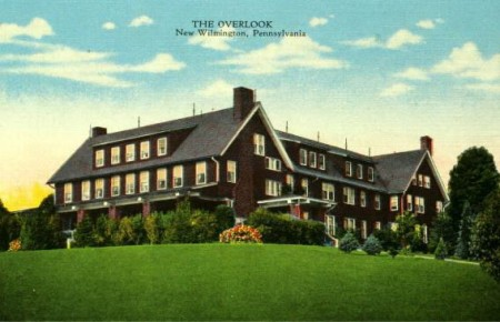 The Overlook, a Historical Postcard