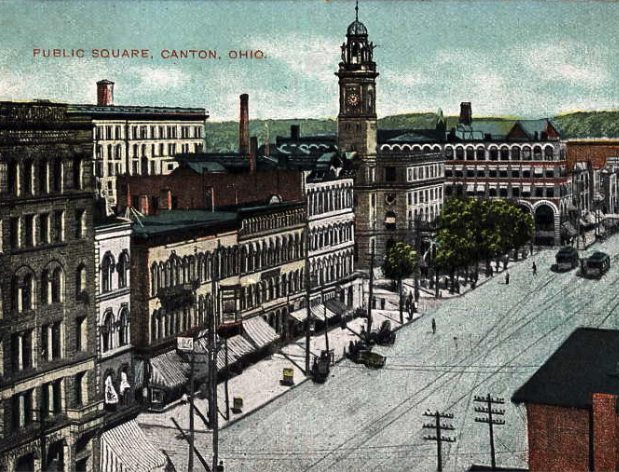 Canton, Ohio public square