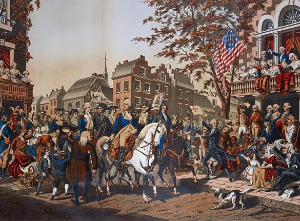General Washington in New York