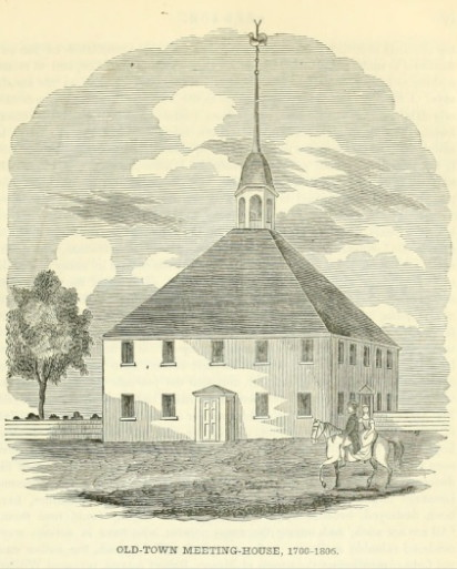 Old Town Meeting House, Newbury MA