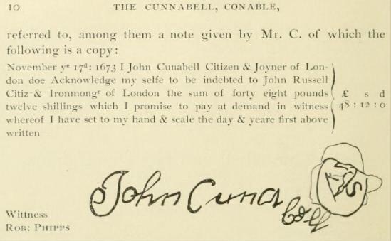 Connable, John signature