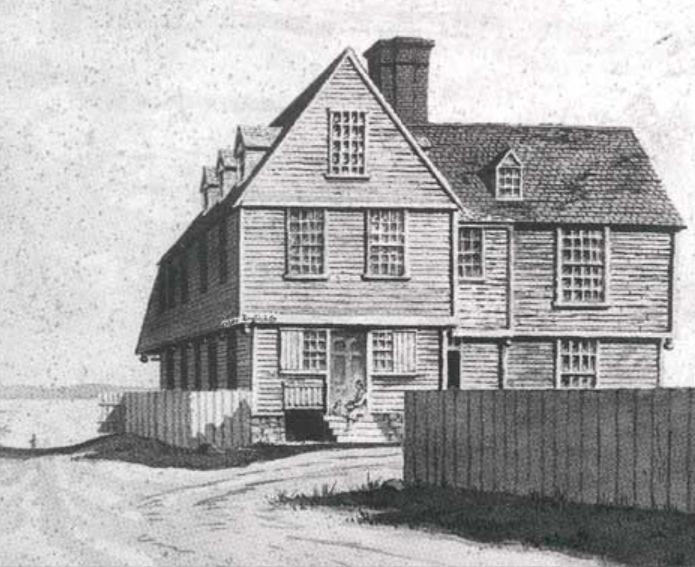 Philip English house at Salem