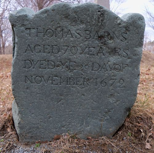 Barnes, Thomas headstone