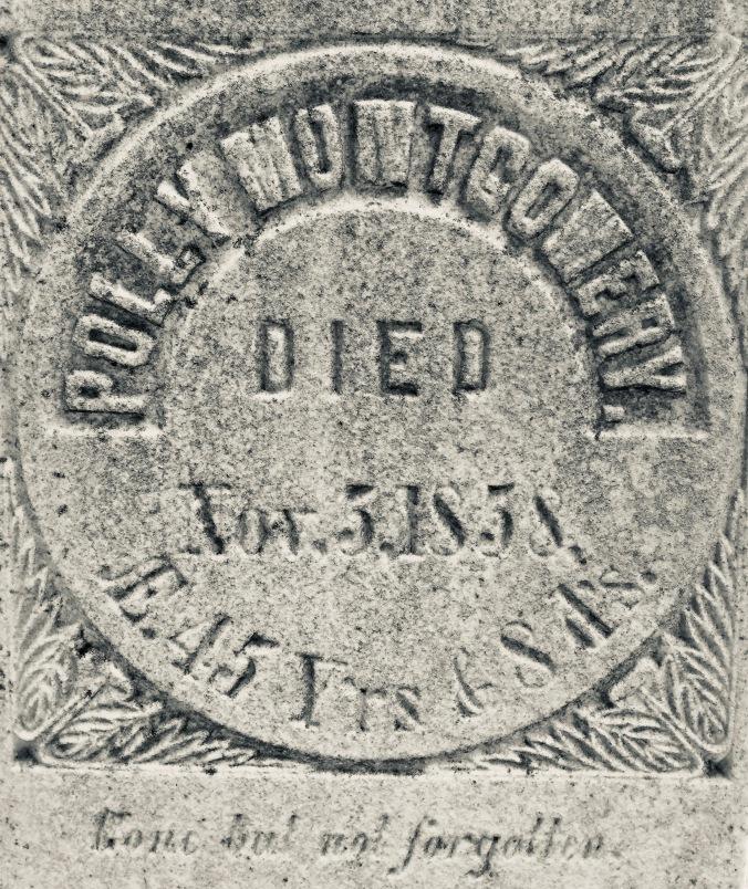 Howard, Polly headstone closeup