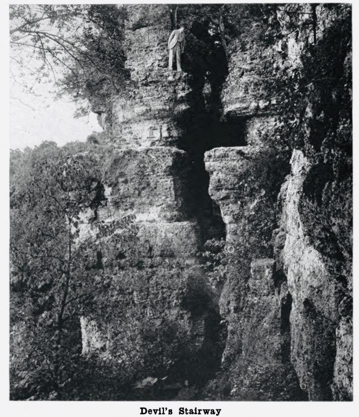 Devil's Stairway at Backbone State Park